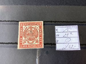 South Africa 1870 roulette used  stamp Ref 57128