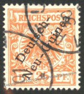 Germany MATUPI New Guinea Deutsche Neu-Guinea DNG Mi5 Used 101960