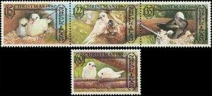 Norfolk Island 1980 Sc 275a, 276 Dove Christmas