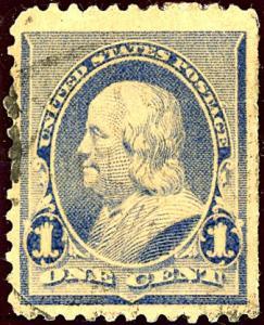 U.S. #219 Used F-VF