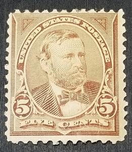 SC #255 GRANT MINT 1894 OG WITH SKIP