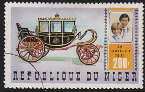 Niger 549 Royal Wedding 1981