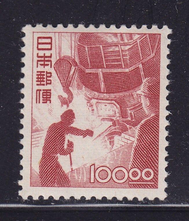 Japan Scott # 435 VF OG lightly hinged nice color cv $ 575 ! see pic !