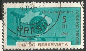 BRAZIL, 1968, used 5c, Reservists Scott 1113
