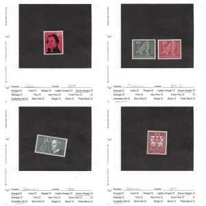 Lot of 70 Germany MNH Mint Stamps Scott Range # 783 - 1351 #141130 X R