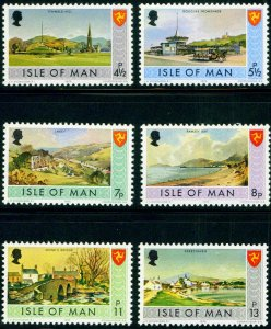 Isle of Man 1975, Bailiwick Issues  MNH Set   # 52-59