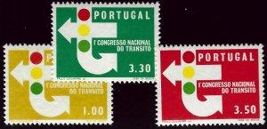 Portugal  SC#942-944 MNH VF...Worth a Close Look!