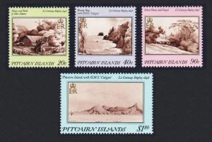 Pitcairn Paintings by Lt Conway Shipley in 1848 4v SG#308-311 SC#291-294