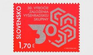2021 Slovakia Visegrad Group (Scott NA) MNH
