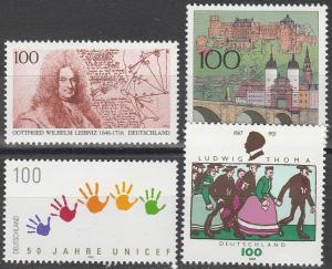 Germany #1933-6  MNH F-VF  CV $5.60 (V1922)