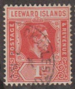 Leeward Islands Scott #105b Stamp - Used Single