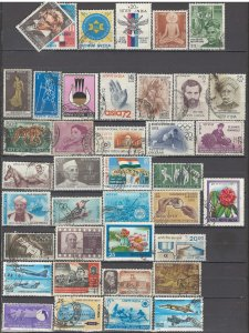 COLLECTION LOT OF #1038 INDIA 39 STAMPS 1966+