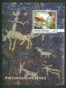 Guinea-Bissau MNH S/S Cave Paintings 2003