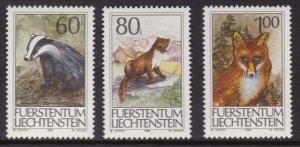 Liechtenstein, Fauna, Animals MNH / 1993