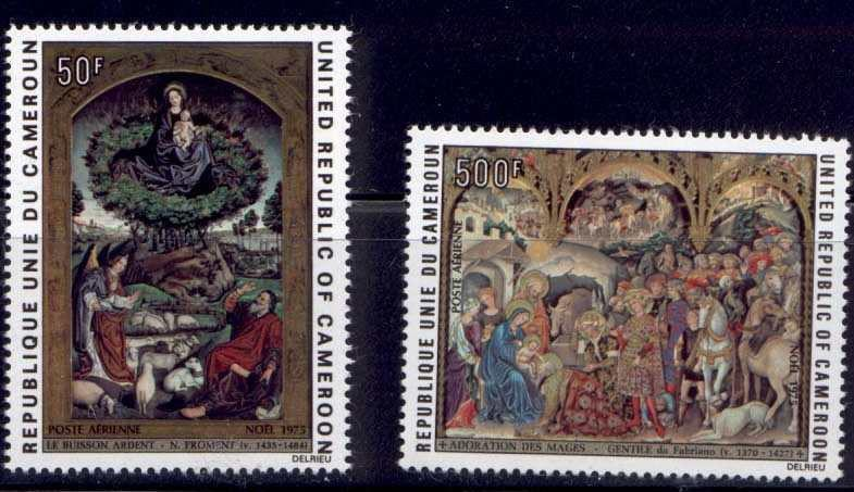 Cameroun C230-1 MNH Art, Paintings, Christmas