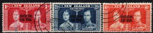 Cook Islands #109-11   F-VF Used  (X1073)