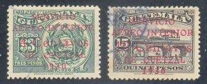 Guatemala - 1930 - SC C11-12 - Used