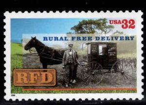 USA Scott 3090 MNH** 32c Rural Mail Coach stamp