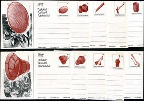 BOPHUTHATSWANA 1986 - Stamped Card-Utensils Set of 10(WF204)