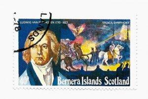 Bernera Island Scotland - Precancelled