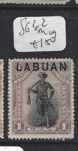 LABUAN   (P1709B)  1C  MAN  SG 62   MOG