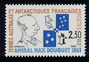FSAT TAAF Admiral Max Douguet Commemoration 1991 MNH SG#274 MI#272