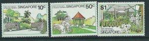 SINGAPORE SG361/3 1979 BOTANIC GARDENS MTD MINT