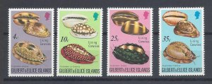 Gilbert & Ellice Isl. MNH 241-4 Sea Shells