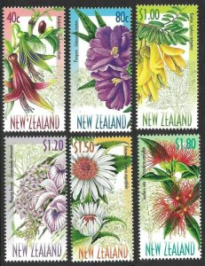 New Zealand # 1563 - 68 Mint Never Hinged
