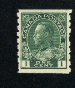 Canada 125   Mint VF 1912-24  PD
