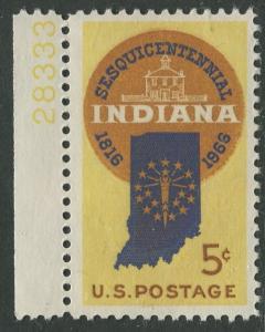 STAMP STATION PERTH USA #1308  MNH OG 1966  CV$0.25.