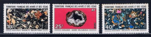 Afars and Issas 349 351-52 NH 1971 Partial Set