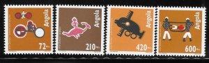 Angola 1993 Quioca Art Sc 868-871 MNH A1270