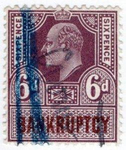 (I.B) Edward VII Revenue : Bankruptcy 6d