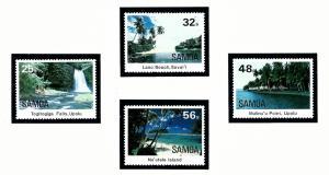 Samoa 620-23 MNH 1984 Various Scenes