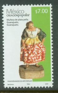 MEXICO 2499f, $7.00P HANDCRAFTS 2012 ISSUE. MINT, NH. F-VF.