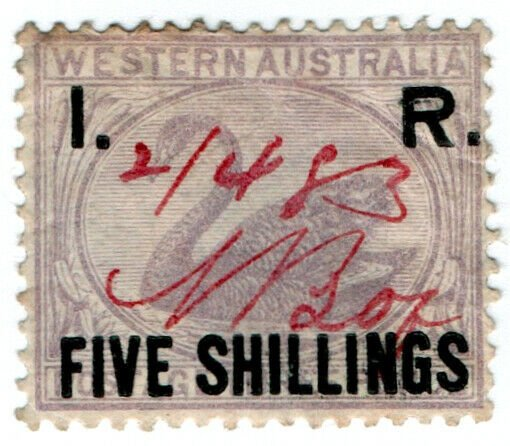 (I.B) Australia - Western Australia Revenue : Internal Revenue 5/-