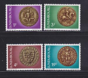 Luxembourg 542-545 Set MNH Seals