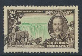 Southern Rhodesia  SG 32  SC# 34   Used / Fine used   Silver Jubilee see deta...