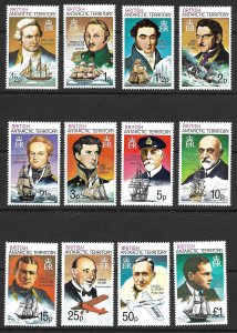 Doyle's_Stamps: MNH British Antarctic Territory Full Set Scott #45** to #59**