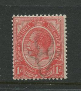 South Africa - Scott 3 - KGV Definitive Issue - 1913 - MLH - Single 1p Stamp