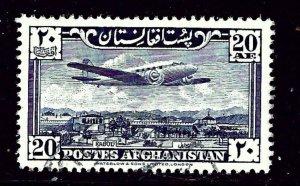 Afghanistan C10 Used 1951 Airplane over Kabul
