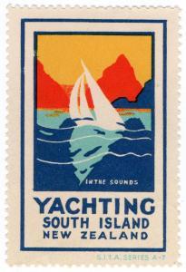 (I.B) New Zealand Cinderella : South Island Tourism (Yachting)