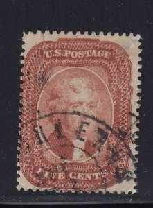 27 F-VF used neat cancel with nice color cv $ 1600 ! see pic !