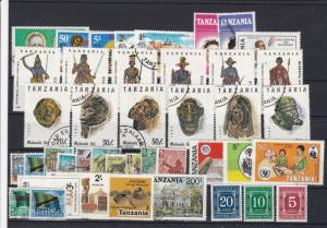 Tanzania Mixed Subject Stamps Ref 24942