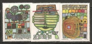 Senegal SC 512-14 MNH