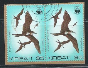 Kiribati 399 $5 Bird pair Used