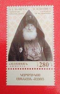 Armenia 2017 170th Anniversary of Catholicos Gevorg V Soureniants mint**