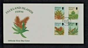 Falkland Islands: 1997 Ferns,  First day Cover.