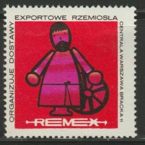 Warsaw Crafts Cinderella Poster Stamp Reklamemarken A7P4F792